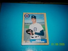 Buy 1987 Topps Traded Baseball ROOKIE MIKE HENNEMAN TIGERS #T46 MINT