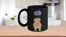 Buy Rain Is For The Birds Bear Coffee Mug