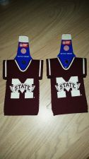 Buy Lot of 2 Mississippi State Bulldogs Bottle Jersey Koozies (405)