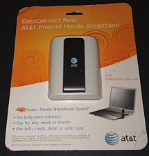 Buy ATT USB Data Connect Force 4G PC Aircard prepaid Mobile Broadband - DISCONTINUED