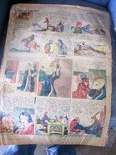 Buy FLASH GORDON Oct. 31, 1937 ALEX RAYMOND Sun. Newspaper Strip JUNGLE JIM