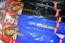 Buy 6 packs of Kanekalon Braid Hair 2 Packs BLUE and 4 Packs 1B Kanekalon