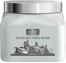 Buy Anjou Dead Sea Mud Mask (17 Oz / 500ml, Made In Israel) For Facial And Body