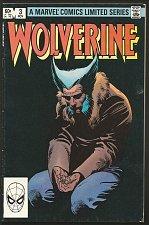 Buy Wolverine #3 Marvel Comics 1st print 1st Series Frank Miller