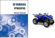 Buy 95-04 Yamaha YFM350FX Wolverine 350 ATV Service Repair Manual CD YFM35FX YFM350