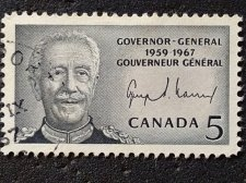 Buy Canada Used 1v Stamp 5c Used # 0474 Governor-General Vanier
