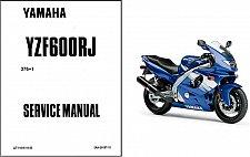 Buy 1996-2008 Yamaha YZF600R Thundercat Service Manual on a CD