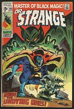 Buy Dr. Strange #183 Gene Colan/RoyThomas (Master of Black Magic) Marvel Comics '69