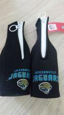 Buy (2) Jacksonville Jaguars Zipper Bottle Koozies NEW (405)