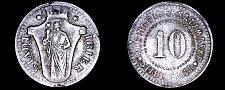 Buy ND c.1918 German 10 Pfennig Kriegsgeld World Coin - Trier Germany Notgeld
