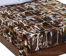 Buy Super Soft Bullgator Camo Fleece Blanket Fits Queen or King Bed Washable Throw