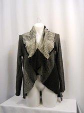 Buy Women Sweater Coat STYLE&CO PLUS SIZE 0X Grey Combo Long Sleeve