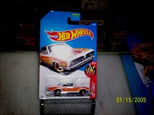 Buy 2015 Hot Wheels Collector No #87 68 PLYMOUTH BARRACUDA FORMULA S WHITE/FLAMES