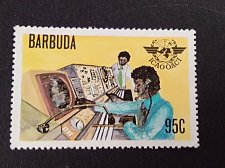 Buy Barbuda stamp 1v used 1979 Barbuda : 30th Anniversary of ICAO