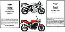 Buy 02-06 Triumph Daytona 955i / Speed Triple 955 Service Repair Workshop Manual CD