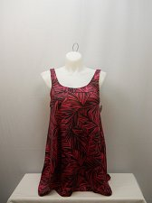 Buy SIZE 18 Women 2PC Coral Palm Tunic Swimdress SWIM 365 Panties Padded Bust