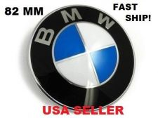 Buy New BMW 82mm Hood Trunk Front Rear Emblem Roundel Badge E36 E46 E90 M3 USA