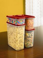 Buy Rubbermaid Modular Canisters, Food Storage Container, BPA-free, 8-piece Set,