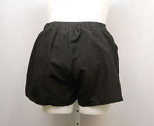 Buy SIZE 14 Women Swim Cargo Board Shorts SWIMSUITS FOR ALL Solid Black Pockets