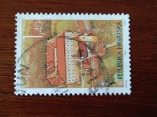 Buy Croatia USED Stamp1995 Mi343 Croatian Towns CAKOVEC
