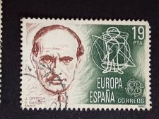 Buy SPAIN Europa 1 Used Stamp 1980 PESETAS ORTEGA Y GASSET
