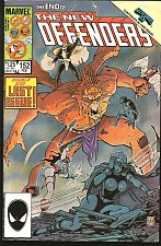 Buy The New Defenders #152 Marvel Comics 1986 Double-sized 1st print LAST ISSUE