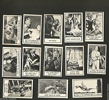 Buy Thirty ORIGINAL MONSTER trading cards 1960's American International PicturesTINY