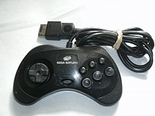 Buy factory genuine original wired remote CONTROLLER Sega Saturn model 2 pad 6button