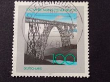 Buy Germany 1 v used stamp 1997 Michel 1931 Müngsten Bridge, Centenary