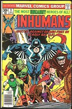 Buy INHUMANS #8 Marvel Comics 1st print 1976 Medusa Black Bolt Moench, Peerez art