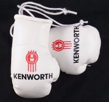 Buy Kenworth Trucks mini boxing gloves ideal for windscreen (a pair)