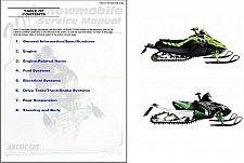 Buy 2011 Arctic Cat Snowmobiles Service Repair Manual CD - All 2 & 4 Stroke Models