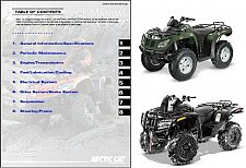 Buy 2012 Arctic Cat 450 / 1000 ATV Service Repair Manual CD