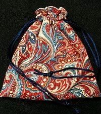 Buy handmade drawstring pouch fully lined tarot gems cell jewelry makeup gift bag