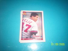 Buy 1991 Topps Traded junior felix angels #40T mint free ship
