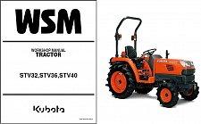 Buy Kubota STV32 STV36 STV40 Tractor Service Repair Workshop Manual CD STV 32 36 40
