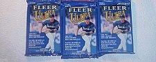 Buy 3 new 2000 Fleer ULTRA baseball HOBBY cards PACK packs - factory sealed unopened