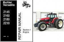 Buy Buhler Versatile 2145 2160 2180 2210 Tractor Service Repair Manual CD