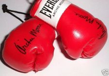 Buy Autographed Mini Boxing Gloves Archie Moore