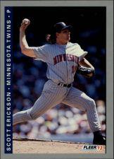 Buy 1993 Fleer #263 Scott Erickson Card - Minnesota Twins