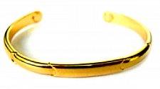 Buy ELECTRIFIED FEEL BETTER EJGT-002 Half Moon Gold Plated Copper Bangle Bracelet