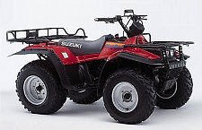 Buy 1988-1998 Suzuki LT-F250 QuadRunner / LT-F4WDX King Quad Service Manual on a CD
