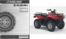Buy 2002-2007 Suzuki LT-A400 / LT-A400F Eiger ( 2X4 - 4X4 ) Service Manual on a CD