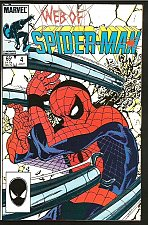 Buy Web of Spider-man #4 VF+/NM- Marvel Comics 1st series 1985 LaRoque Colletta