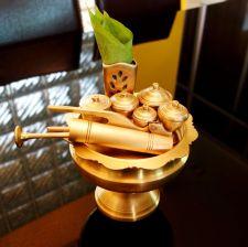Buy 10 Piece Betel Contained Set Tray Brass Betel Nut Set & Cutter Mak pounding