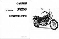 Buy 1988-2008 Yamaha Virago 250 ( XV250 ) Service & Parts Manual on a CD