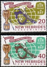 Buy New Hebrides set of 2 1966 England World Cup issue Football