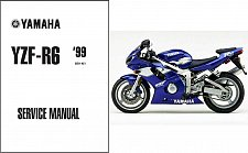 Buy 1999-2002 Yamaha YZF-R6 Service Repair Workshop Manual CD -- YZFR6