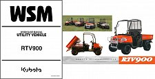Buy Kubota RTV900 UTV WSM Service Manual on a CD - RTV 900
