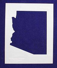 Buy State of Arizona 8x10 inch Stencil -14 mil Mylar Painting/Crafts
